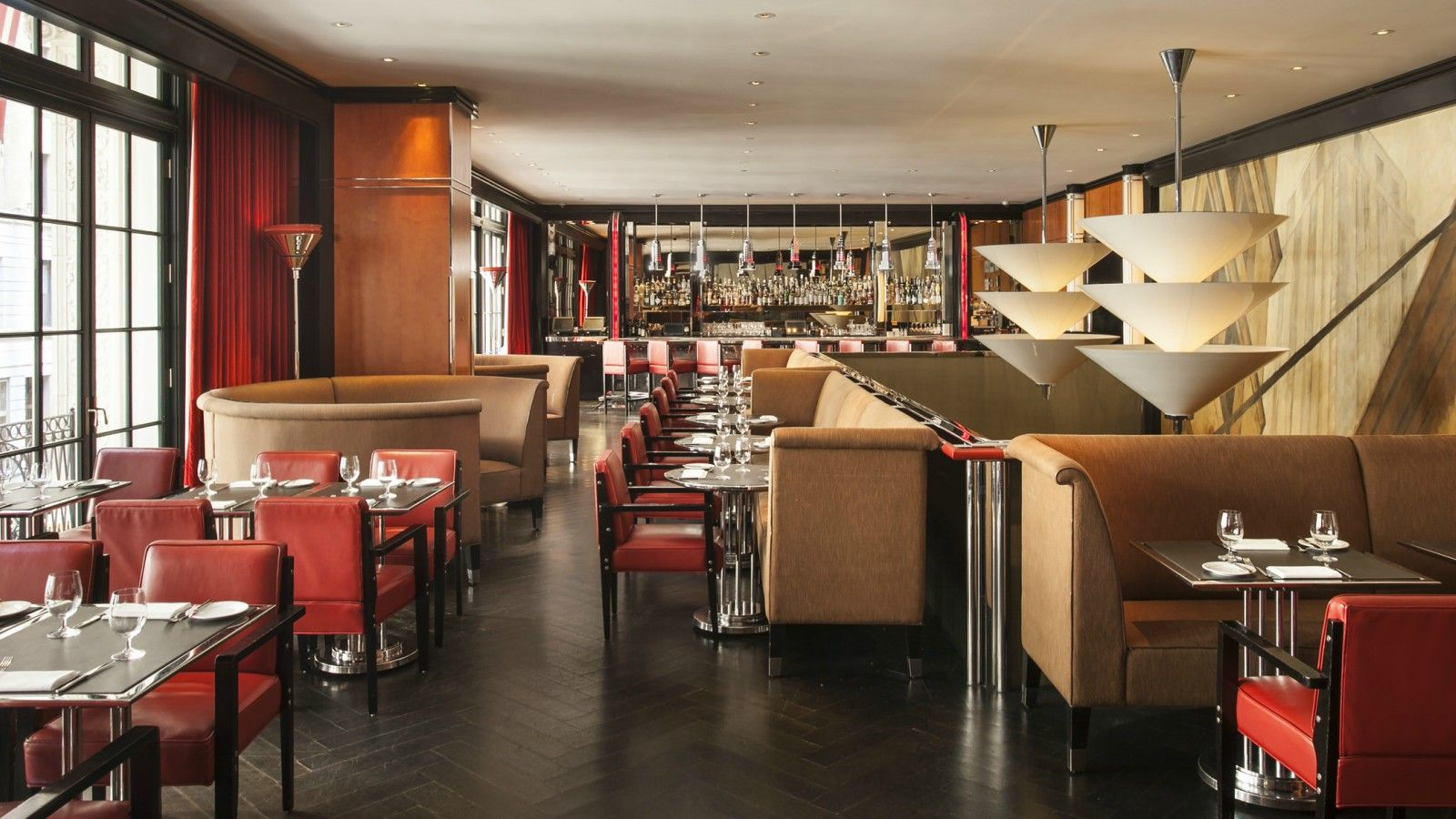 New York City Restaurants | The Chatwal's Mezzanine Bar