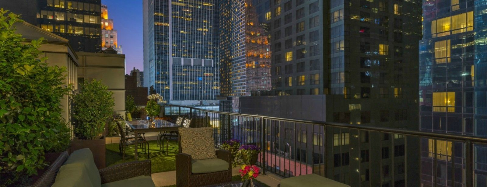Producer Suite Terrace | The Chatwal, a Luxury Collection Hotel, New York City